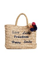 Hat Attack Statement Tote Natural