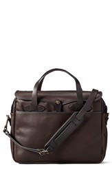 Filson Men's Weatherproof Leather Briefcase