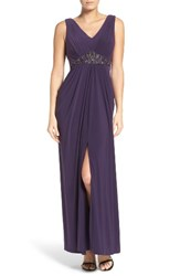 Adrianna Papell Women's Embellished Jersey Gown