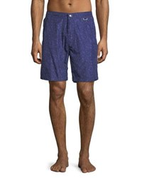 Peter Millar Collection Smooth Sailin' Swim Trunks Barchetta Blue