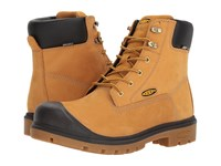 Keen Utility Baltimore 6 Wp Steel Toe Wheat Men's Work Boots Tan