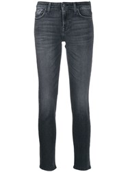 7 For All Mankind Studded Jeans Black