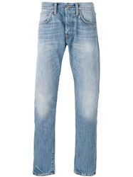 Edwin Faded Jeans Men Cotton 32 Blue