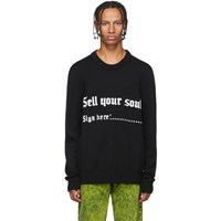 Nasaseasons Black Sell Your Soul Sweater