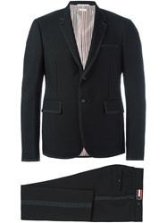 Thom Browne Bias Contrast Formal Suit Black
