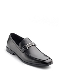 Kenneth Cole Take Me Home Leather Loafers Black