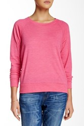 Alternative Apparel Slouchy Pullover Pink