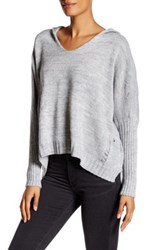 Luma Hooded Sweater Gray