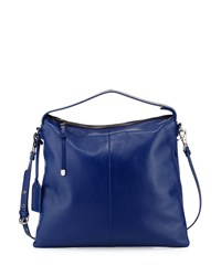 Claudia Soft Pebble Hobo Ink Badgley Mischka