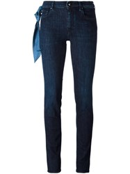 Jacob Cohen Cropped Skinny Jeans Blue