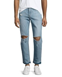 Joe's Jeans Rude Boy Neu Destroyed Denim Blue