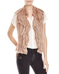 Haute Hippie Mixed Fur Vest