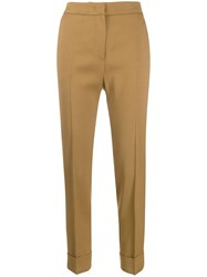Pt01 Andrea High Waisted Trousers Neutrals