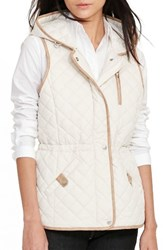 Lauren Ralph Lauren Women's Hooded Quilted Vest