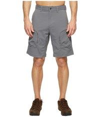 Mountain Khakis Trail Creek Shorts Relaxed Fit Gunmetal Men's Shorts Gray