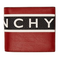 Givenchy Tricolor Reverse Logo Wallet