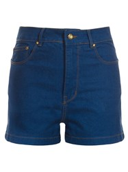 10525854Amapo High Waisted Denim Shorts