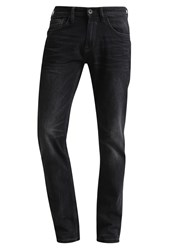 Tom Tailor Denim Slim Fit Jeans Black Stone Wash Denim Black Denim