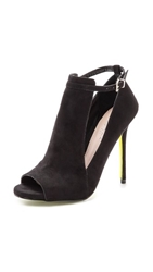Carvela Kurt Geiger Glance Cutout Booties Black
