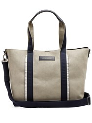 Want Les Essentiels Marti Faux Suede Tote Grey Multi