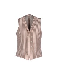 Royal Hem Vests Beige