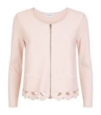 Claudie Pierlot Milano Cut Out Cardigan Female Pink