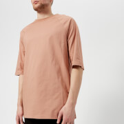Matthew Miller Men's Clayton Oversized Raglan T Shirt Carnation Nude