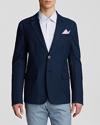 The Men's Store At Bloomingdale's Double Face Soft Sport Coat Regular Fit Navy