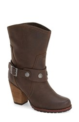 Women's Eastland 'Bellamy' Belted Mid Boot Brown