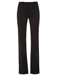 Altuzarra Serge Flared Trousers Black