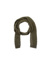 Barts Accessories Oblong Scarves Women Military Green