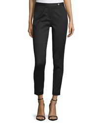 Cnc Costume National Skinny Cropped Pants Black Women's