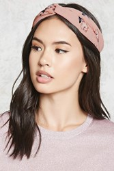 Forever 21 Floral Twist Headwrap