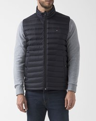 Tommy Hilfiger Navy Blue Sleeveless Light Down Jacket