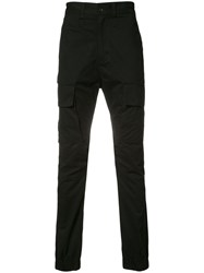 Stampd Patch Pocket Trousers Black