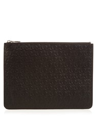 Givenchy Star Leather Pouch Black