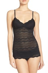 Women's Cosabella 'Dolce' Long Lace Camisole Black