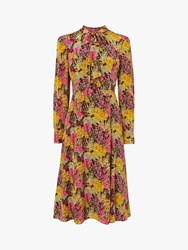 Lk Bennett L.K.Bennett Mortimer Floral Silk Dress Multi