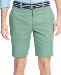 Club Room Men's Flat Front Shorts Only At Macy's Peashoot