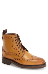Oliver Sweeney 'Selby' Wingtip Boot Men Tan Leather