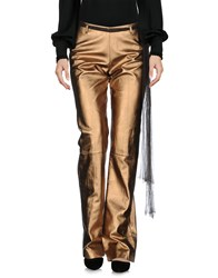 Angelos Frentzos Casual Pants Copper