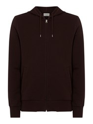 Criminal Eldon Zip Through Hoodie Red