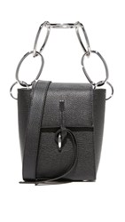 3.1 Phillip Lim Leigh Small Top Handle Bag Black