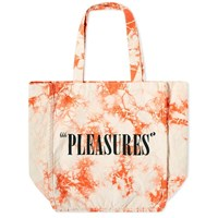 Pleasures Wavy Paint Tote Bag Orange