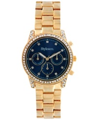 Style And Co. Women's Gold Tone Bracelet Watch 39Mm 10018938
