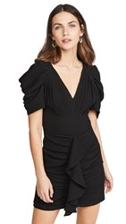 C Meo Collective Soaked Short Sleeve Dress Black