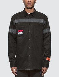 Heron Preston Work Shirt Black