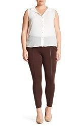 One 5 One Piped Legging Brown
