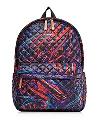 M Z Wallace Mz Laser Print Metro Backpack Multi Black