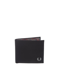 Fred Perry Drakes Billfold Wallet Black
